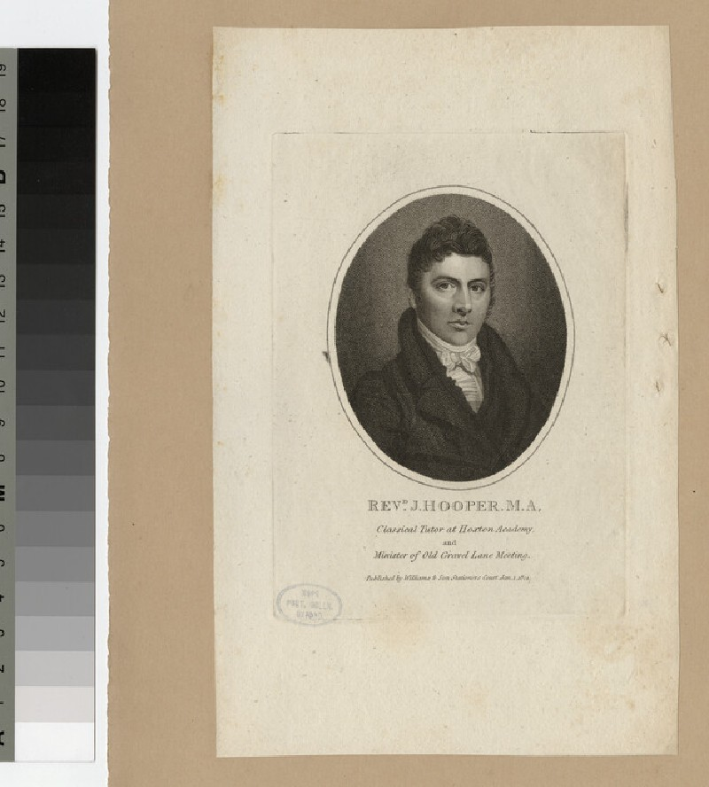 Portrait of J. Hooper