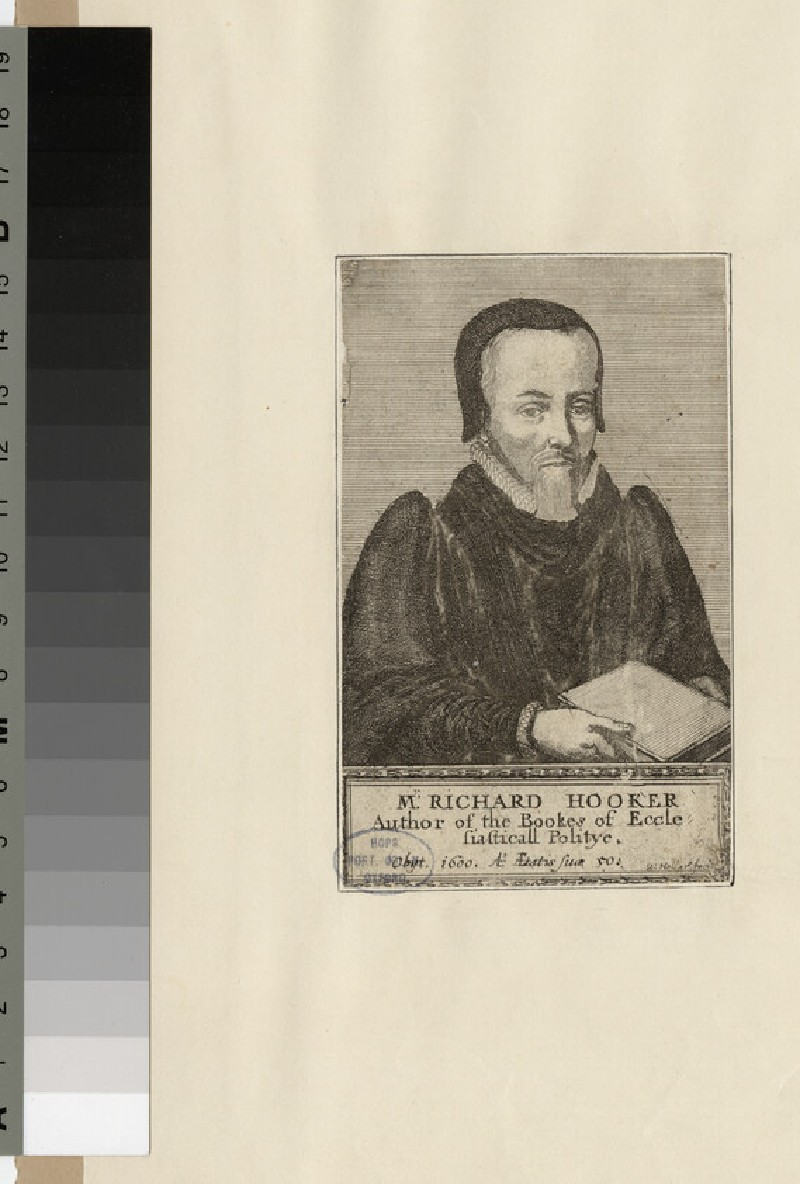 Portrait of Revd Dr R. Hooker (WAHP23637)