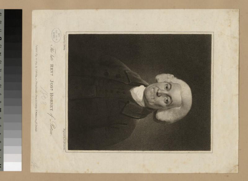 Portrait of J. Horsey