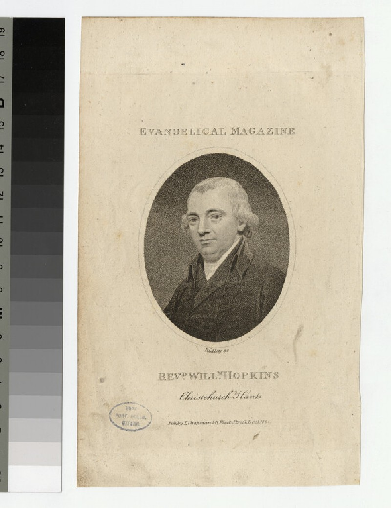 Portrait of Revd W. Hopkins (WAHP23684)
