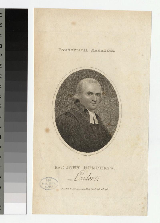 Portrait of J. Humphrys (WAHP23696)