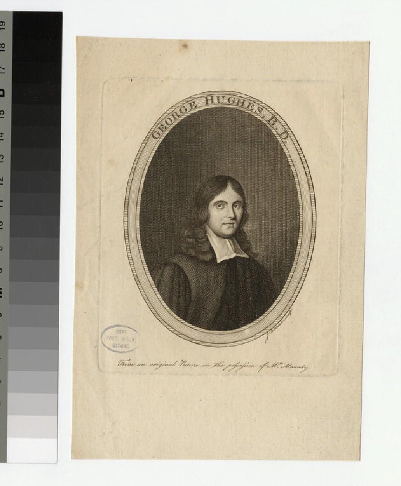 Portrait of G. Hughes