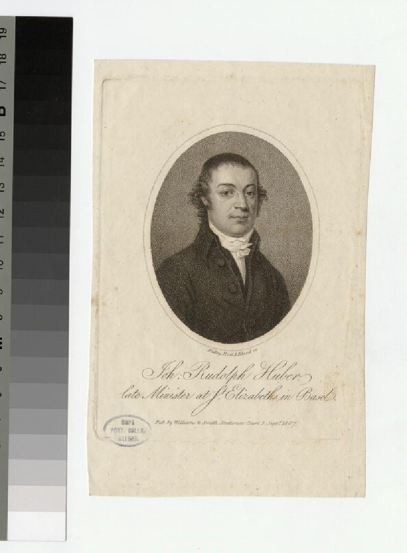 Portrait of J. R. Huber
