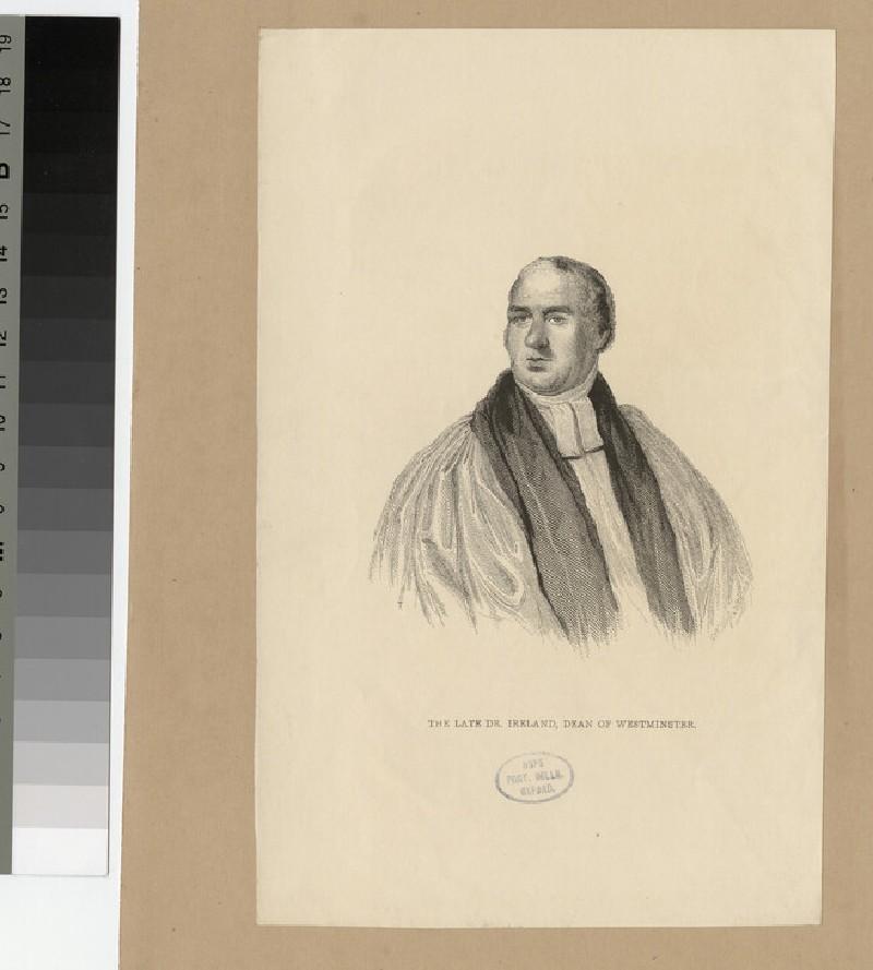 Portrait of Revd Dr Ireland