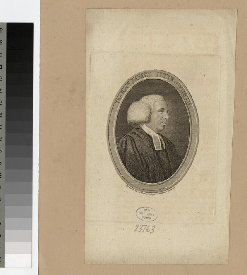 Portrait of J. Illingworth