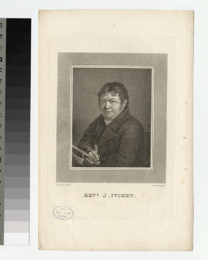 Portrait of J. Ivimey (WAHP23767)