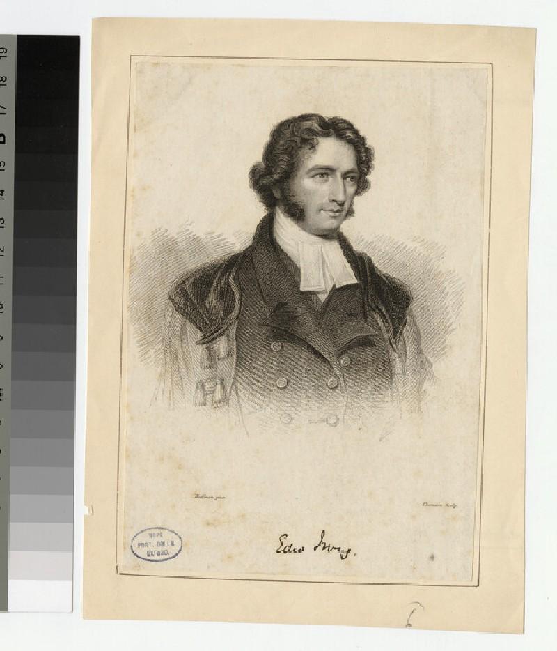 Portrait of E. Irving