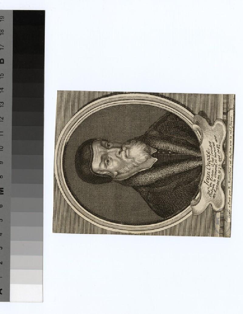 Portrait of J. Knox (WAHP23784)
