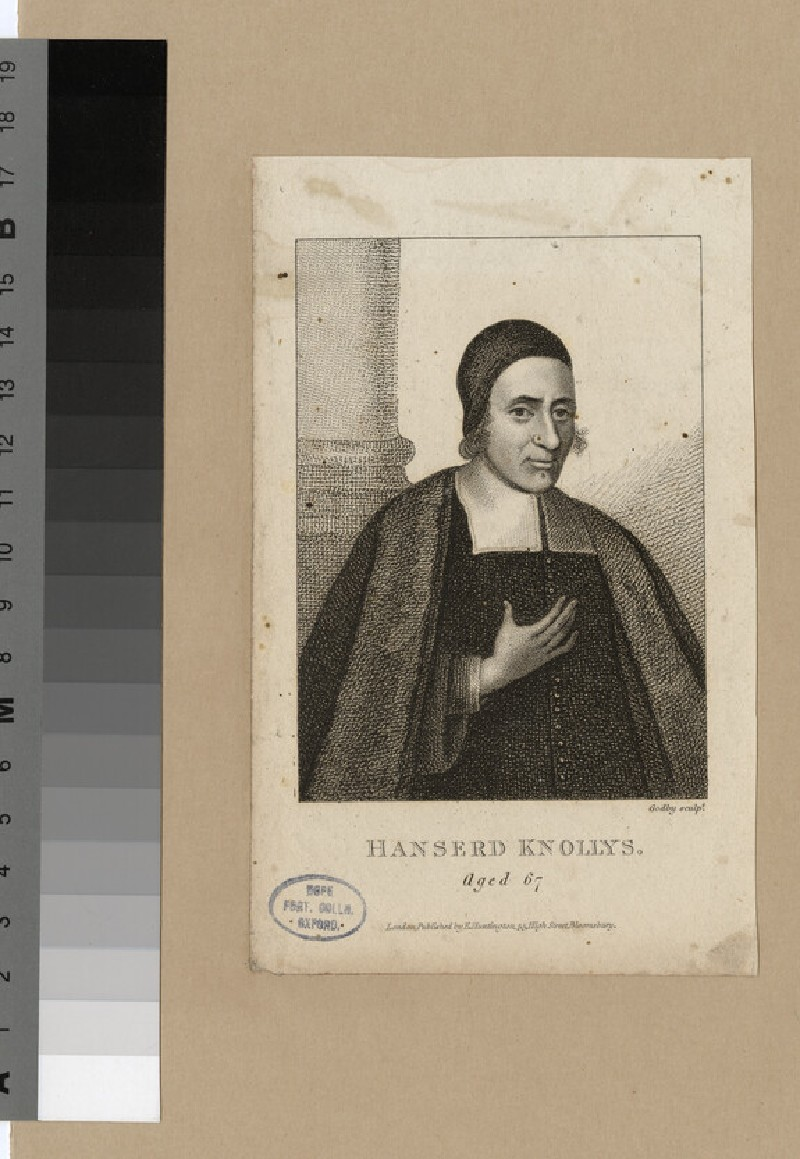 Portrait of H. Knollys (WAHP23817)