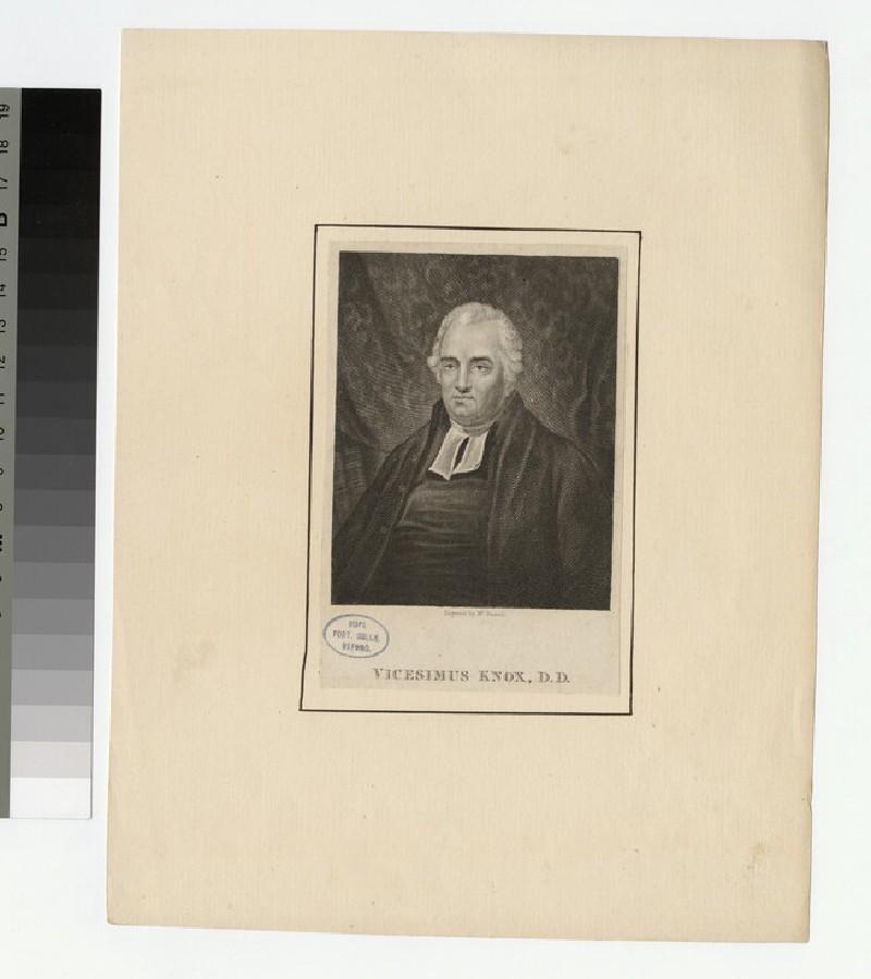 Portrait of V. Knox