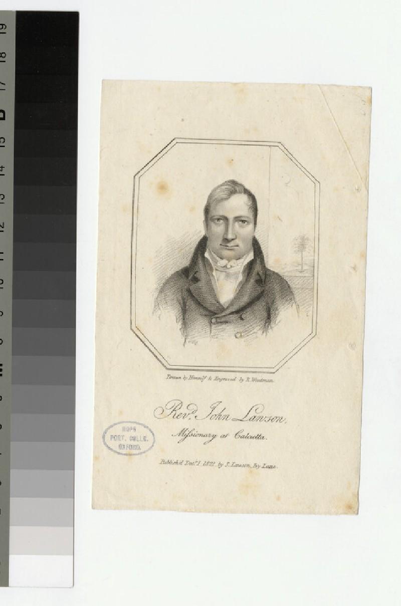 Portrait of J. Lawson