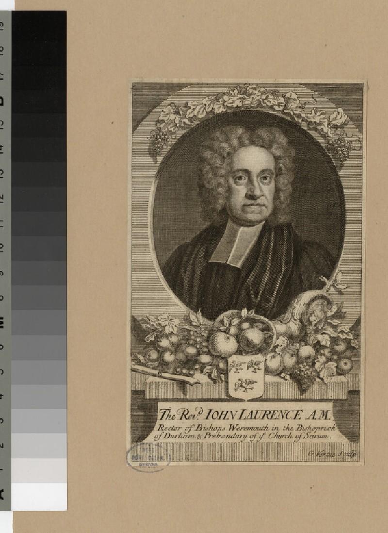 Portrait of Revd J. Laurence (WAHP23841)