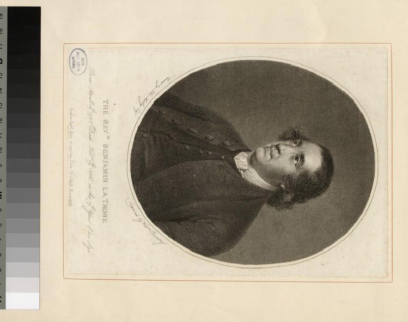 Portrait of B. La Trobe