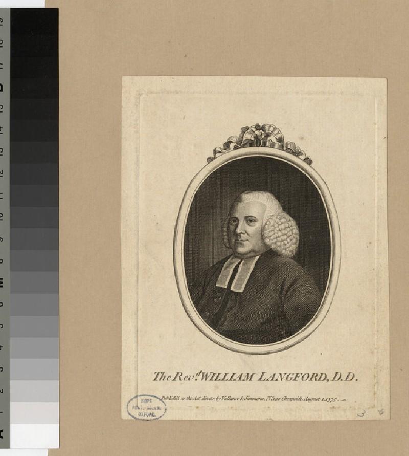Portrait of W. Langford
