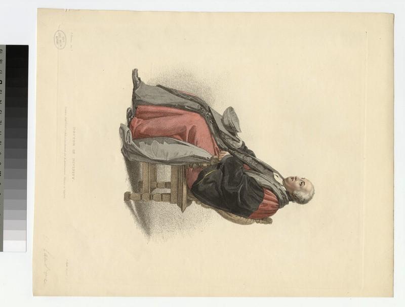 Portrait of Revd Dr Landon