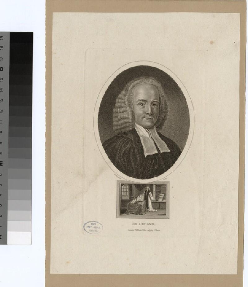 Portrait of J. Leland