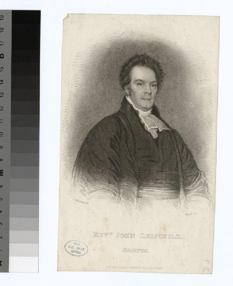 Portrait of J. Leifchild (WAHP23884)
