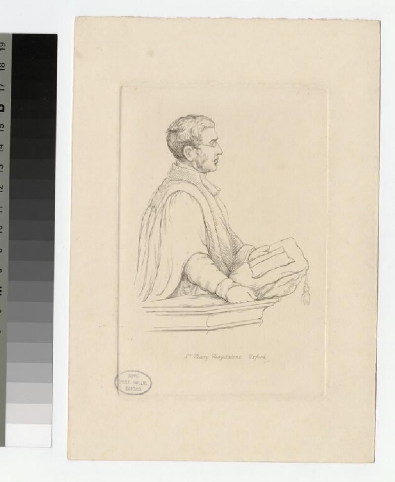 Portrait of Revd J. Ley