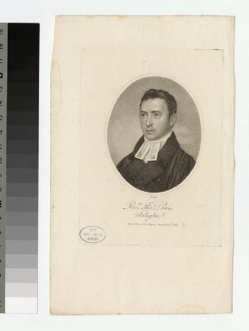 Portrait of T. Lewis