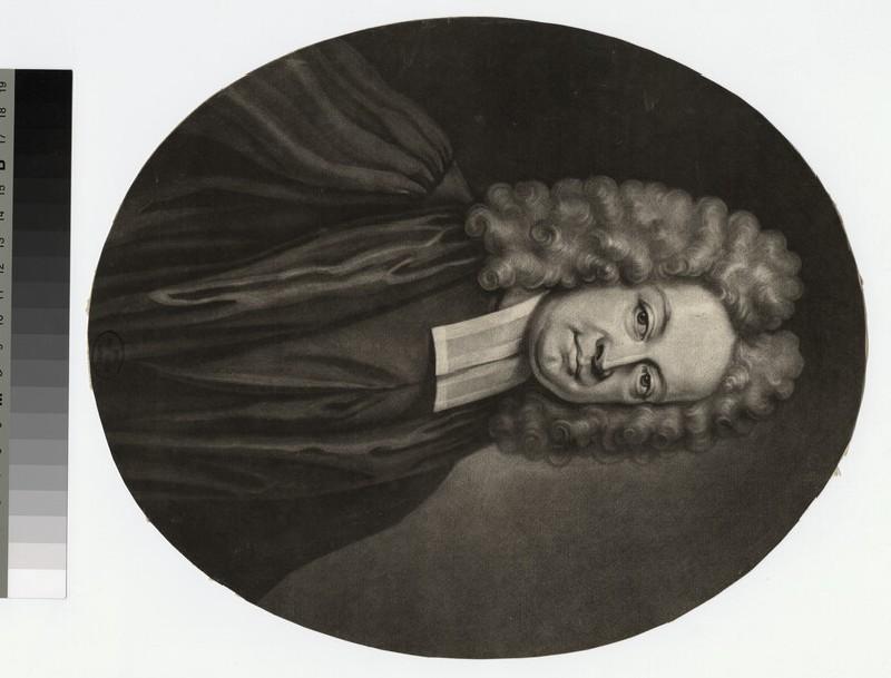 Portrait of Revd C. Leslie
