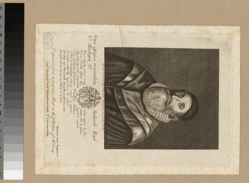 Portrait of R. Lloyd (WAHP23927)