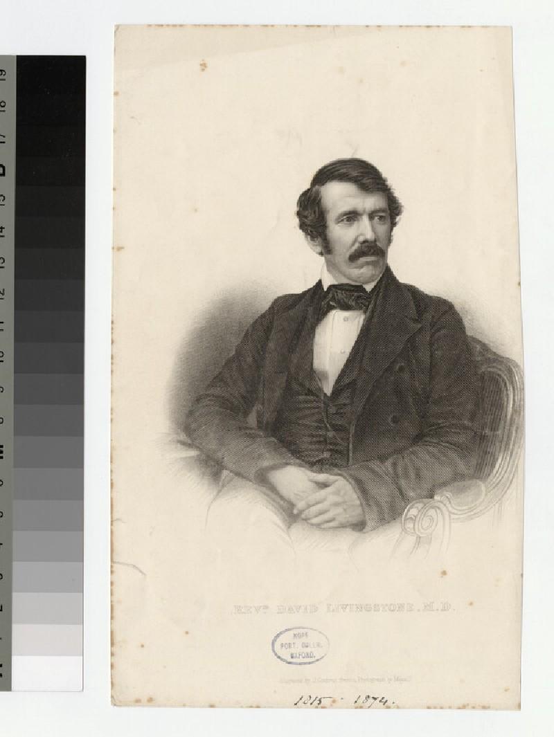 Portrait of Dr D. Livingstone