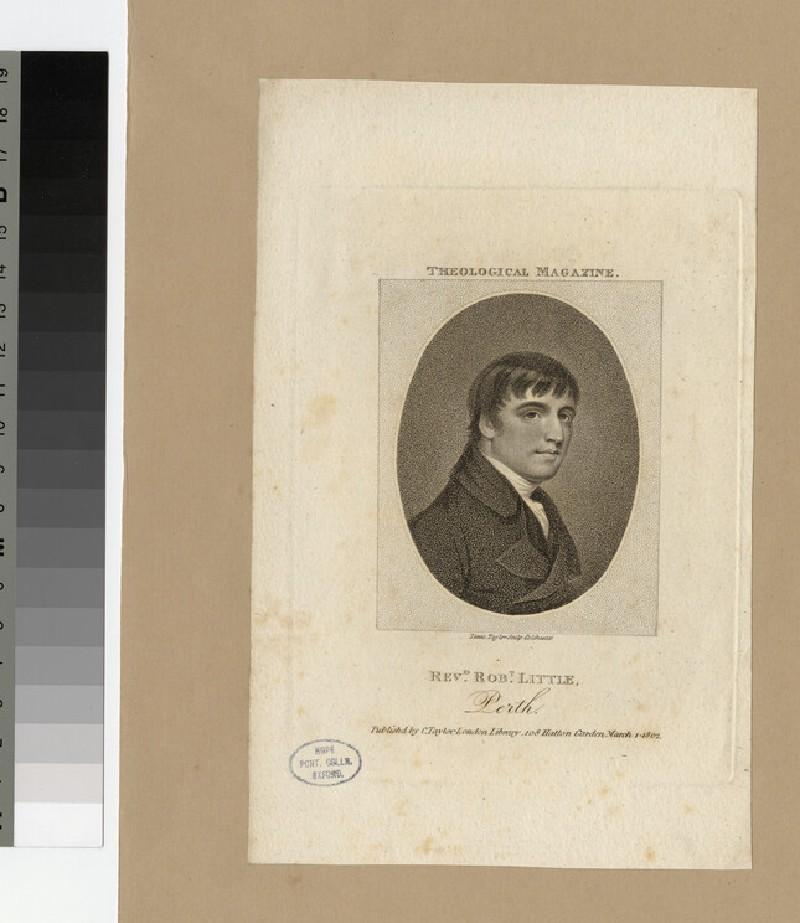 Portrait of R. Little (WAHP23935)