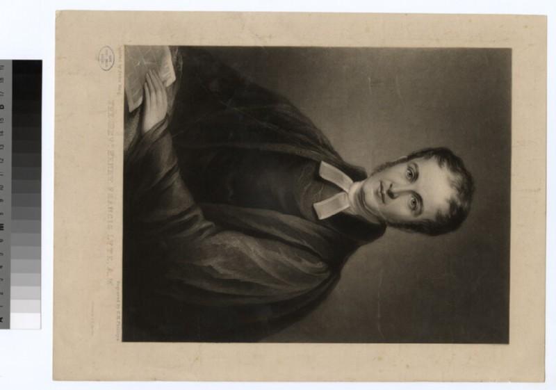 Portrait of Revd H. F. Lyte