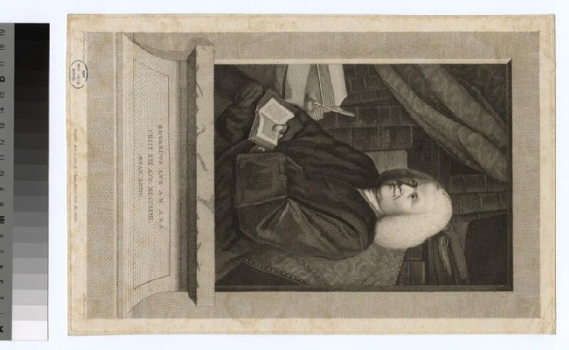 Portrait of Revd E. Lye