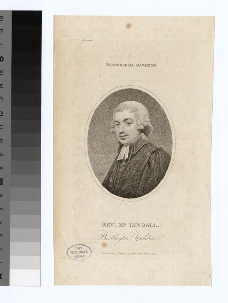 Portrait of Mr Lyndall