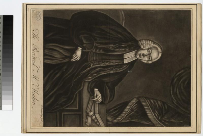 Portrait of Revd Mr Madan (WAHP24007)