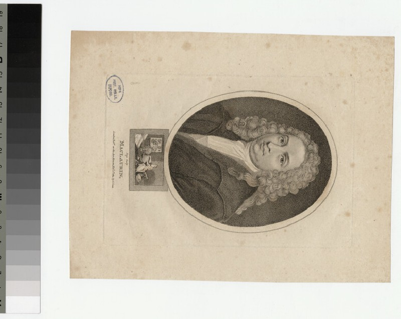 Portrait of MacLaurin