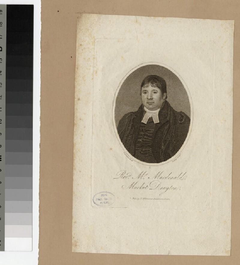 Portrait of Mr Macdonald
