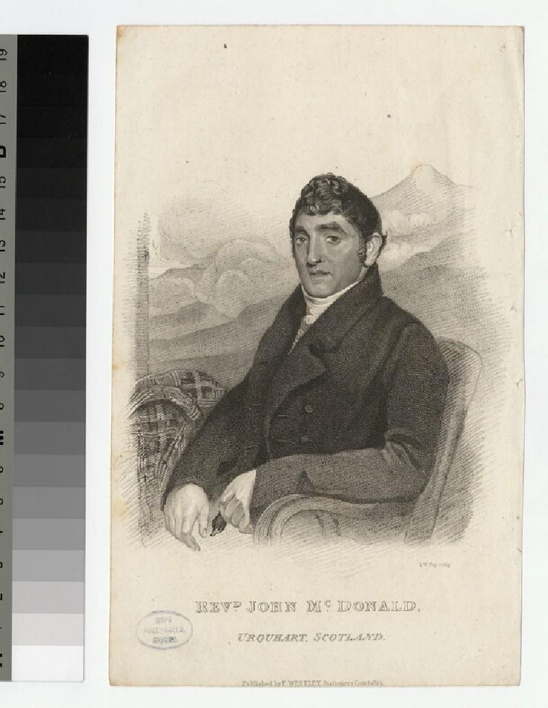 Portrait of J. McDonald