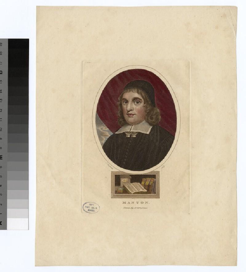 Portrait of T. Manton (WAHP24050)