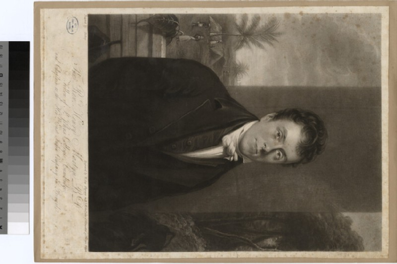 Portrait of Revd H. Martyn