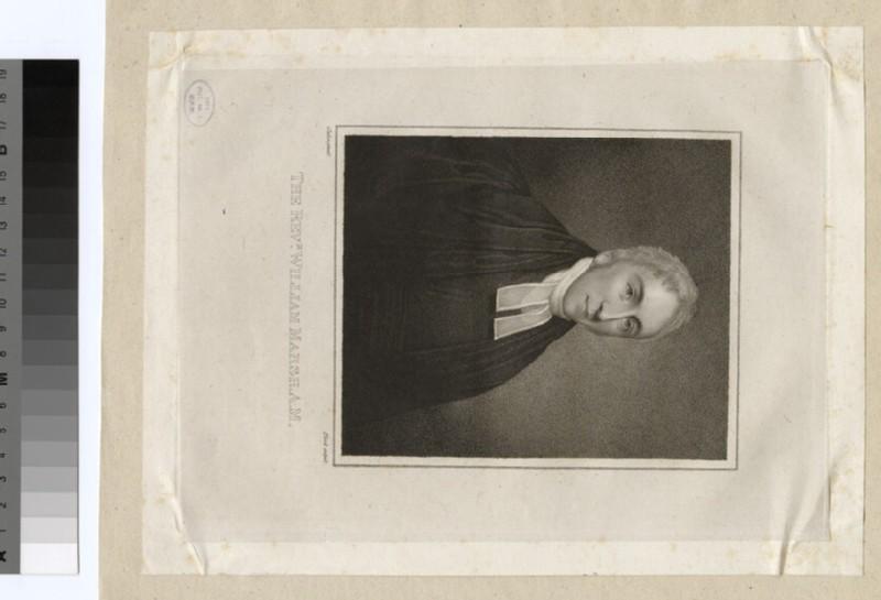 Portrait of Revd W. Marsh