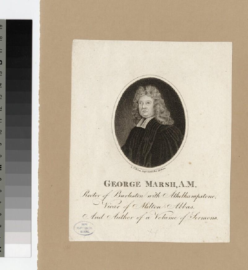 Portrait of Revd G. Marsh