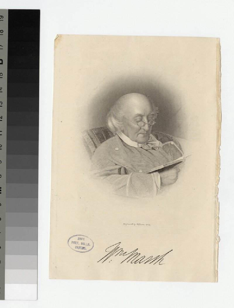 Portrait of W. Marsh