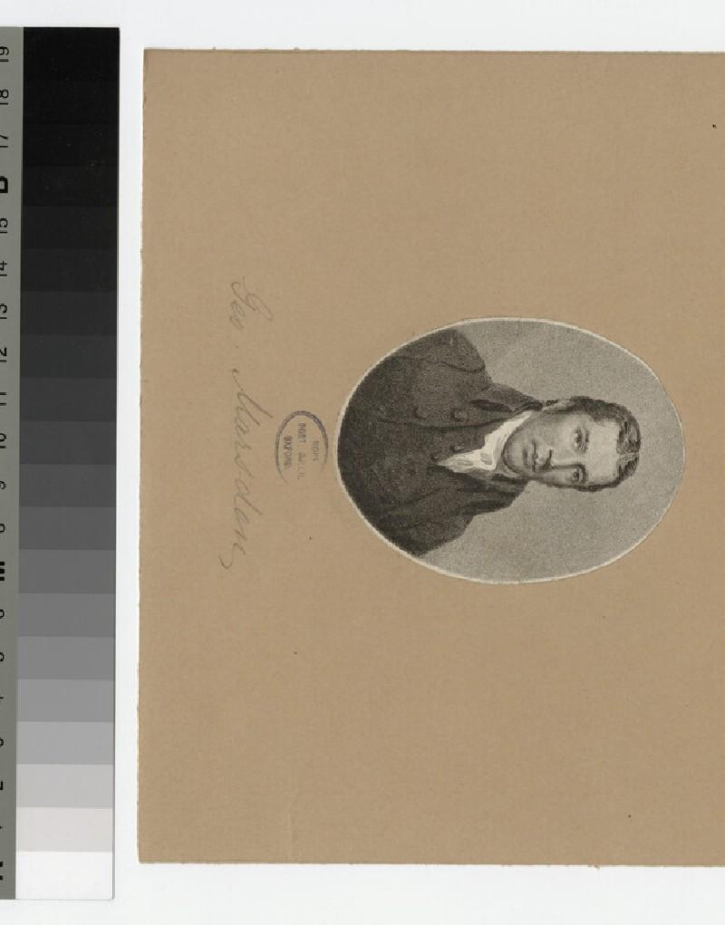 Portrait of G. Marsden (WAHP24092)