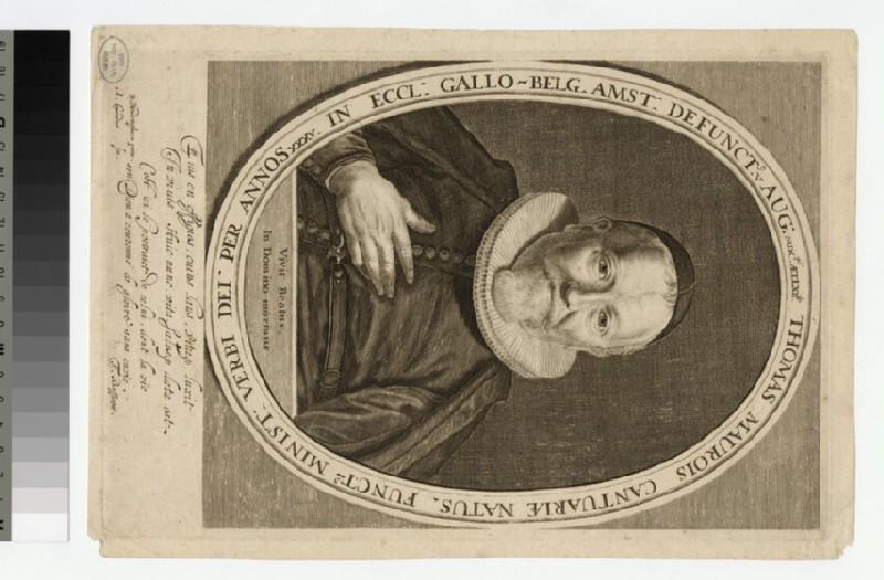 Portrait of Thomas Maurois (WAHP24107)