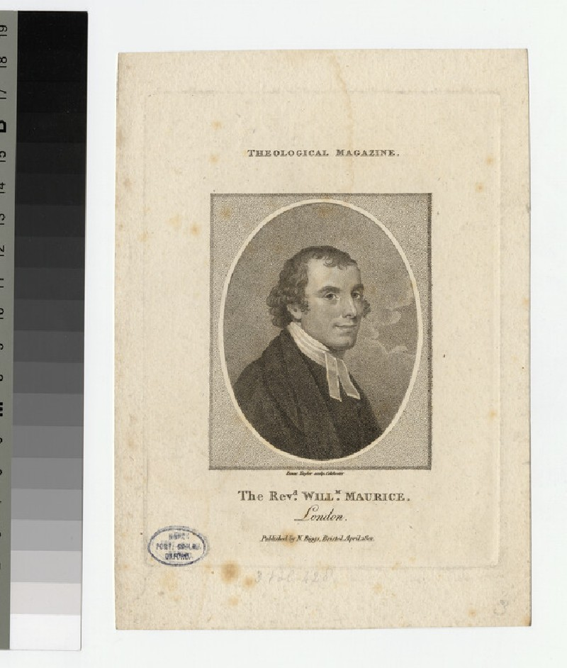 Portrait of W. Maurice (WAHP24109)