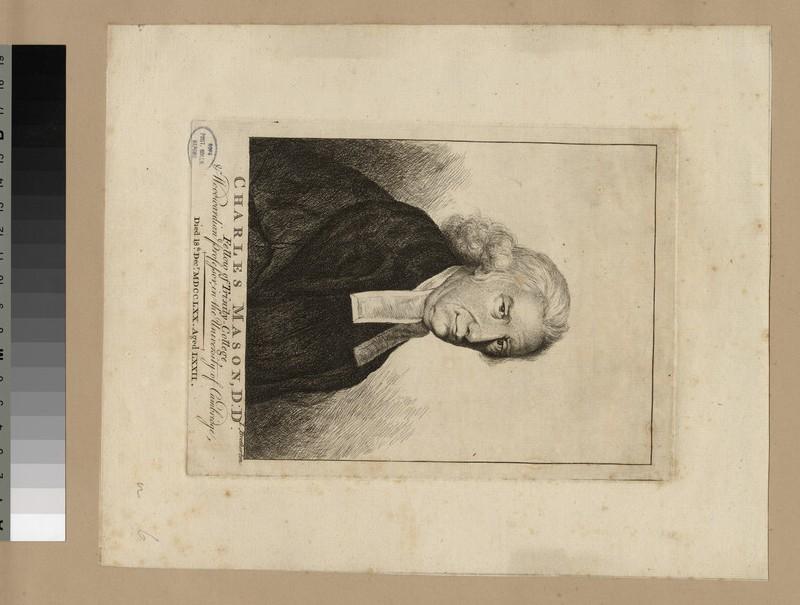 Portrait of Revd Dr C. Mason