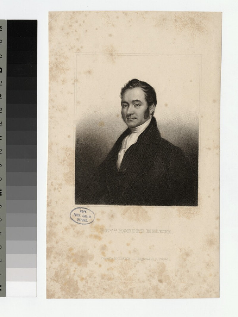 Portrait of Robert Melson (WAHP24155)