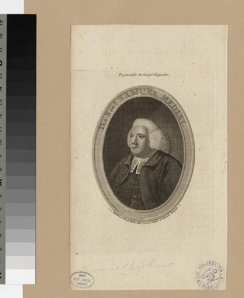 Portrait of S. Medley