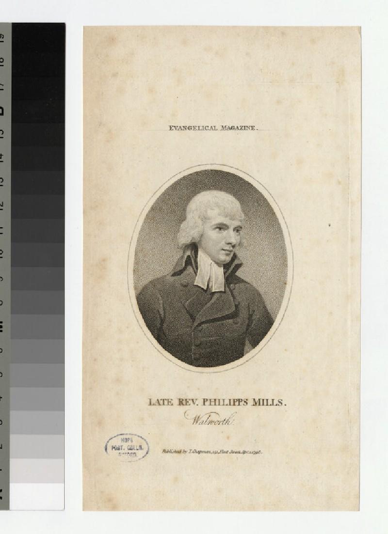 Portrait of P. Mills (WAHP24181)