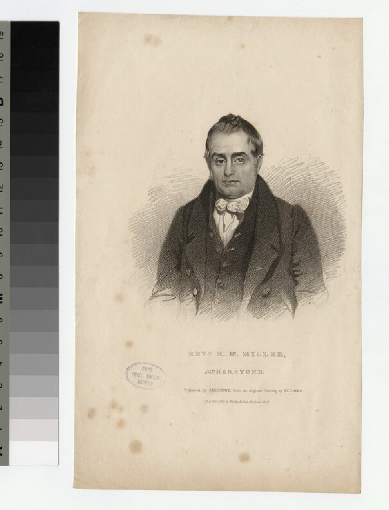 Portrait of R. M. Miller (WAHP24188)
