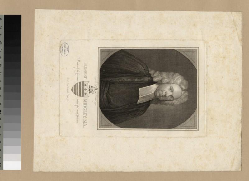 Portrait of Revd R. Midgley