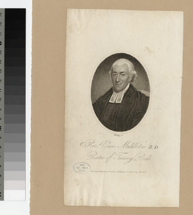 Portrait of Revd E. Middleton