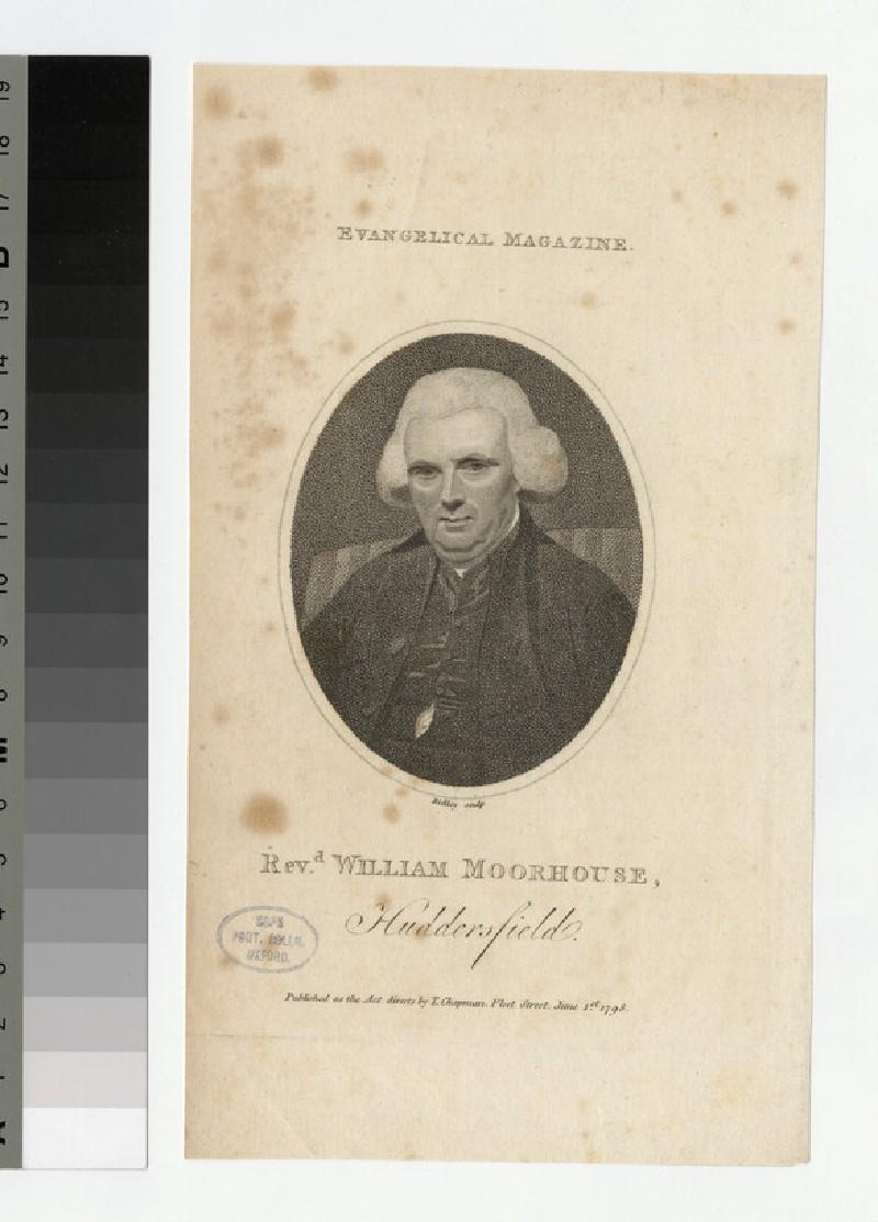 Portrait of W. Moorhouse